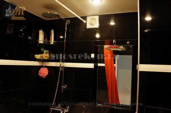 Ремонт совмещенной ванной комнаты на Сакольниках