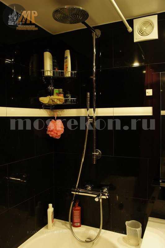Необычный ремонт в ванной комнате на Сакольниках