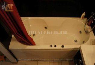 Монтаж джакузи в ванной комнате