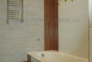 Монтаж ванны и полотенцесушителя в Отрадном