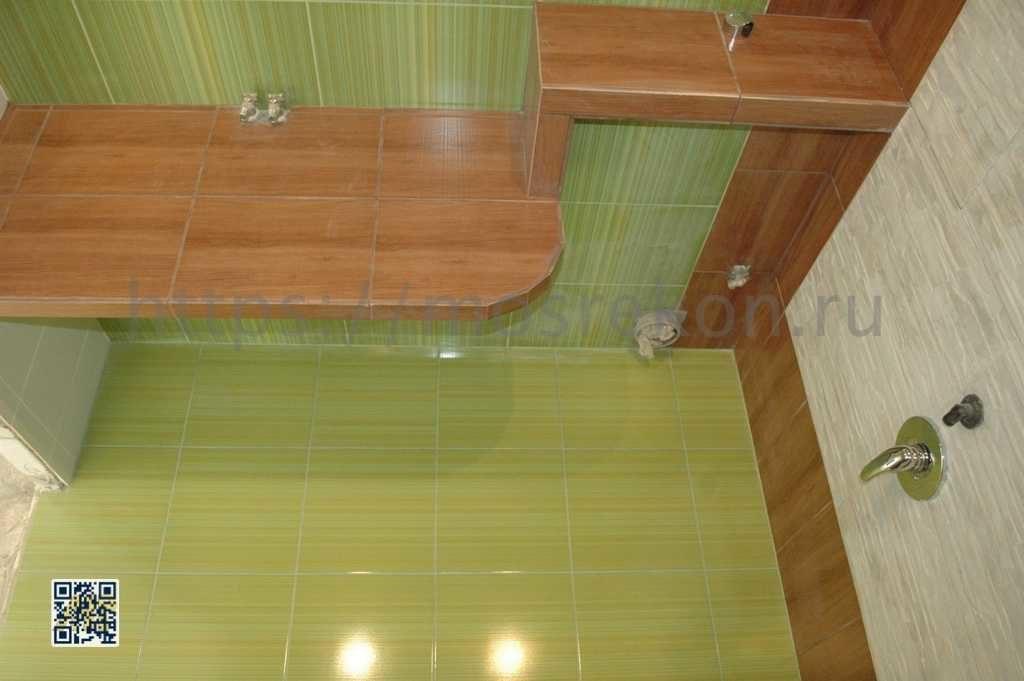 Фото дизайнерского ремонта санузла в Отрадном