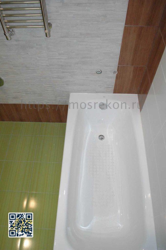 Фото металлической ванны в Отрадном