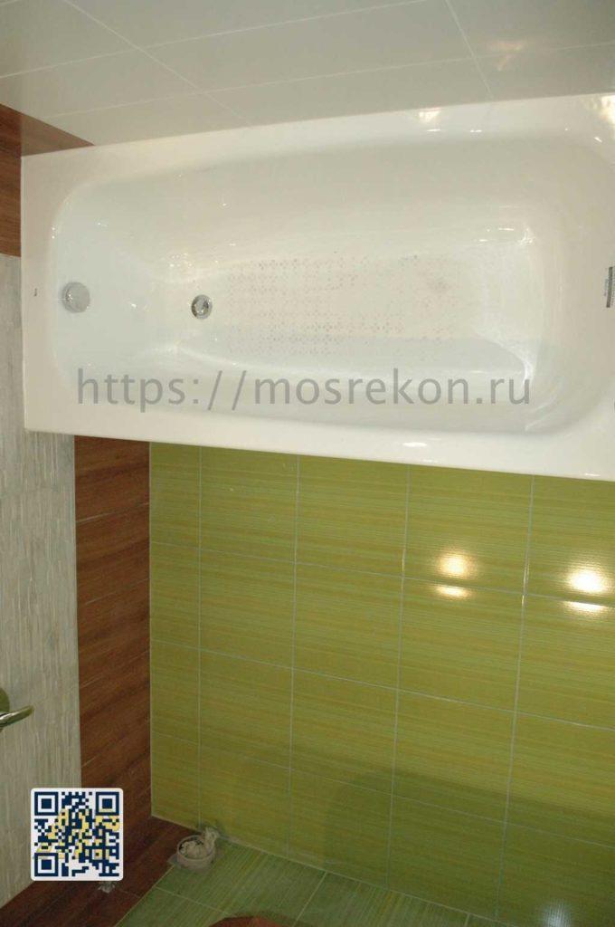 Фото монтажа ванной на Отрадном