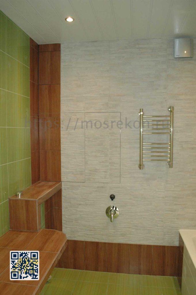 Ремонт ванной комнаты под ключ в районе Отрадное
