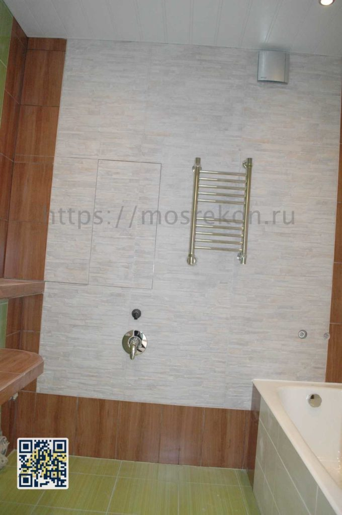 Установка полотенцесушителя в Отрадном