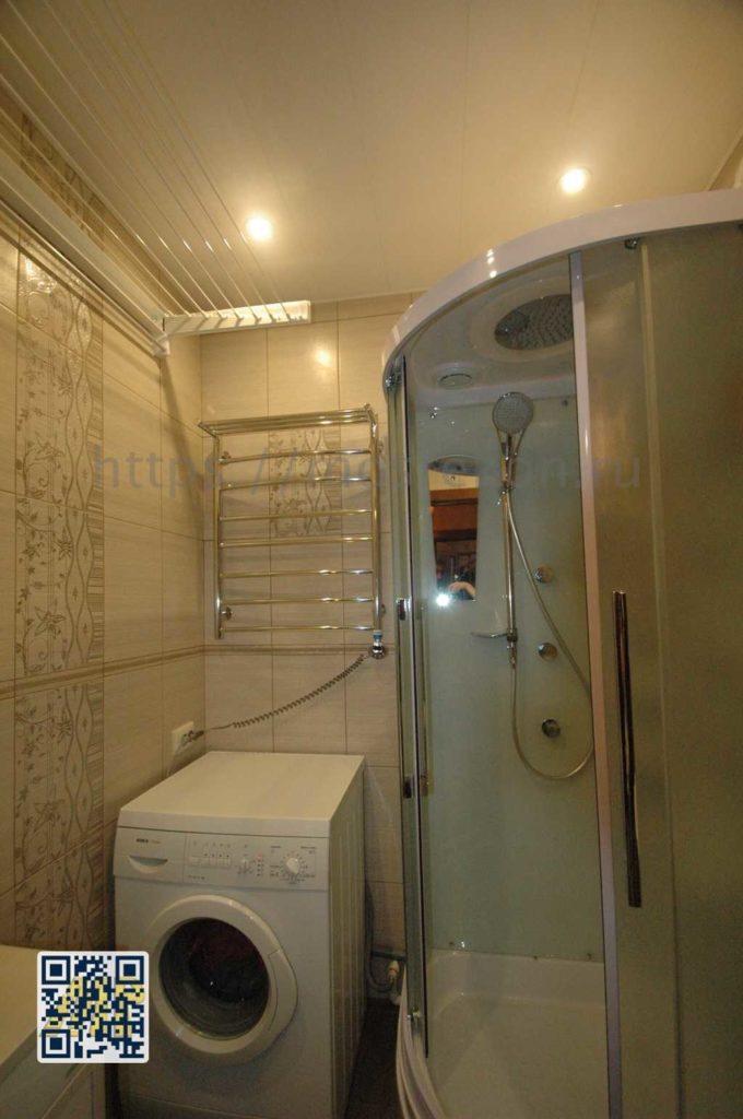 Ремонт раздельной ванной на Славянском бульваре