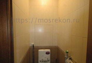 Ремонт туалета на Славянском бульваре