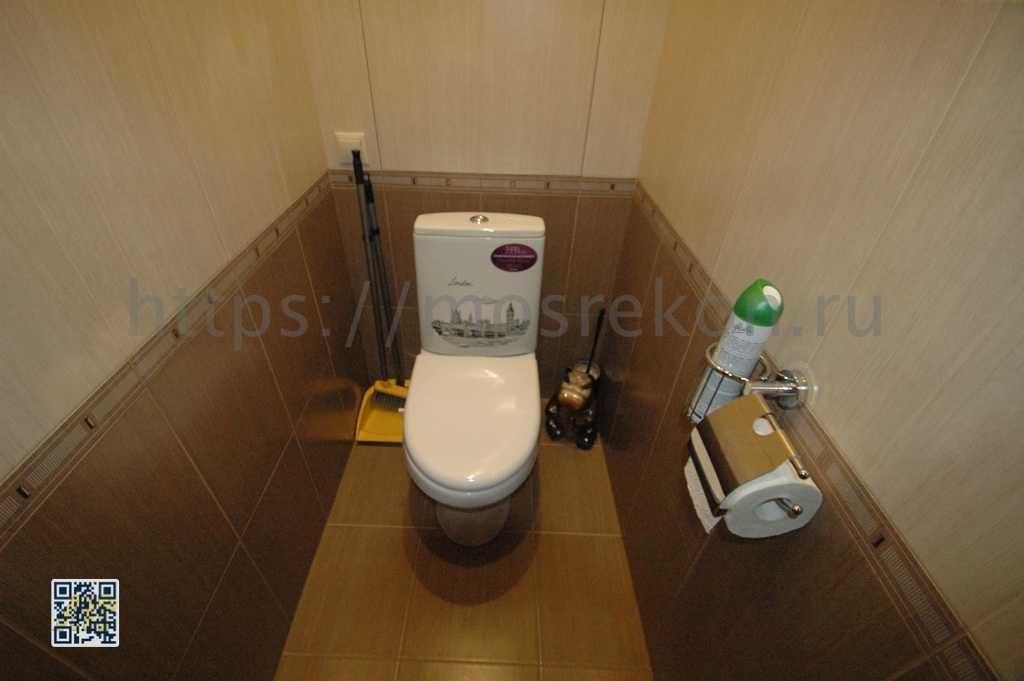 Стандартный ремонт туалета