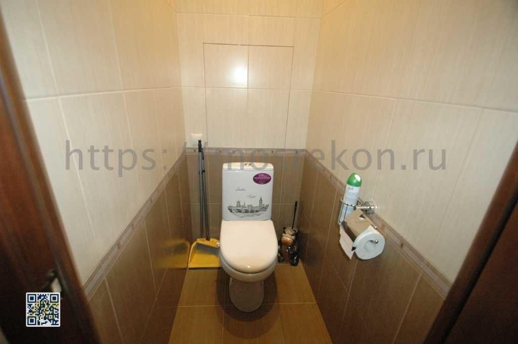 Ремонт стандартного туалета