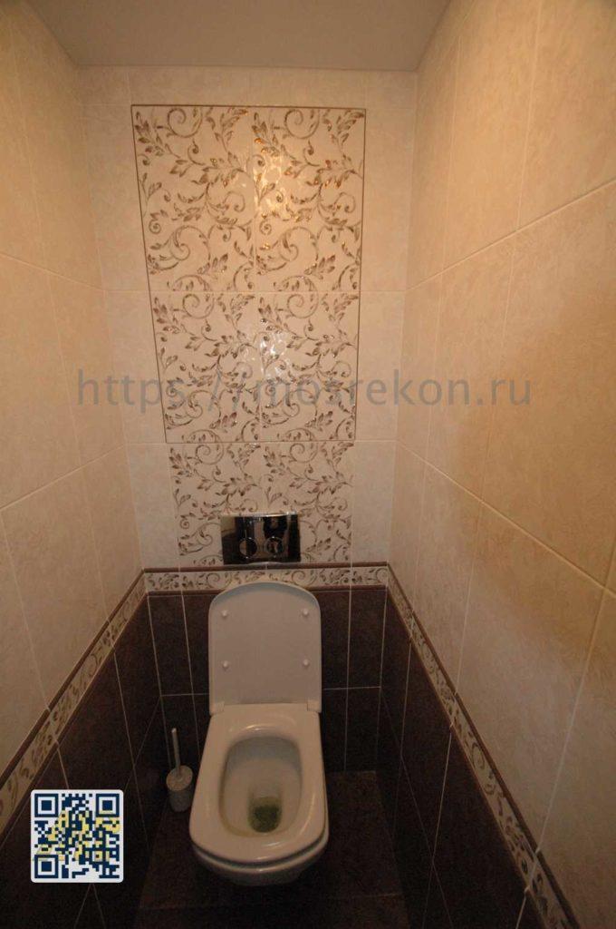 Капитальный ремонт туалета фото