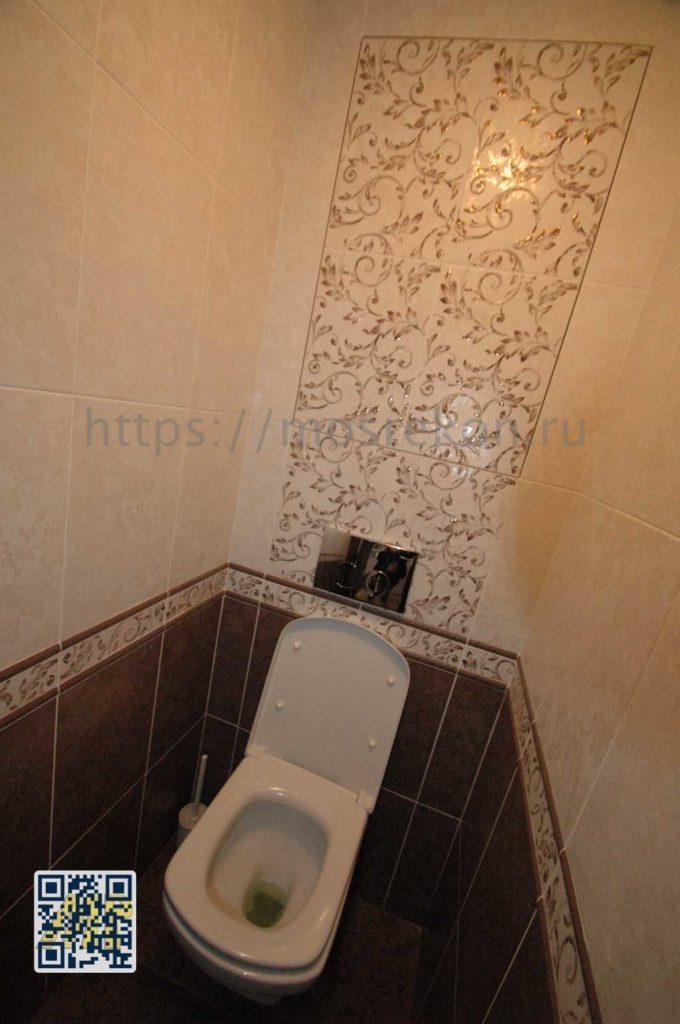 Небольшой ремонт туалета в Красногорске