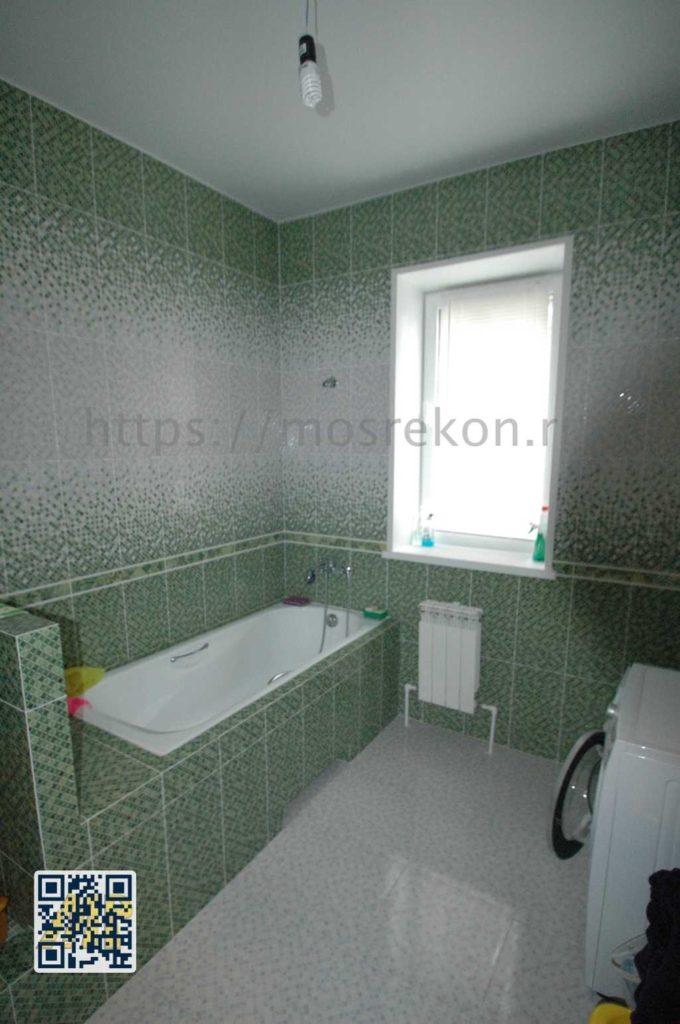 Ремонт ванной комнаты с высокими потолками