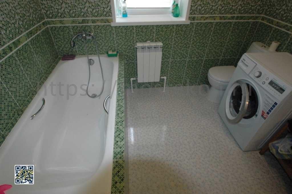Ремонт ванной 5 м2 в коттедже