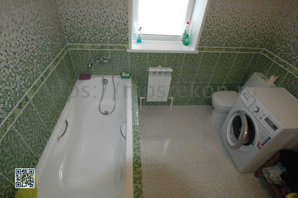 Ремонт просторной ванной 5 м2 в ПГТ Малаховка