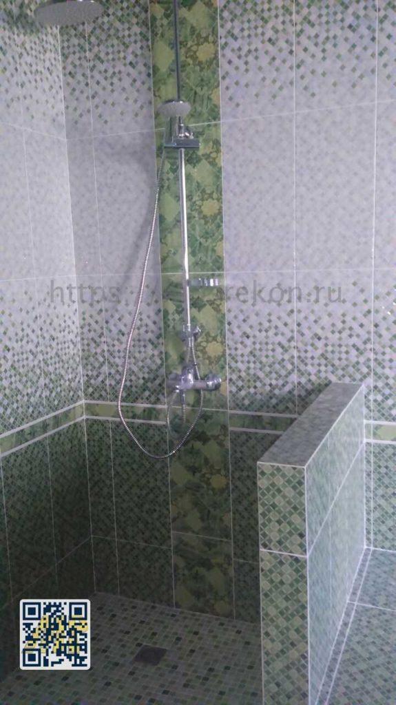 Ремонт в большой ванной комнате