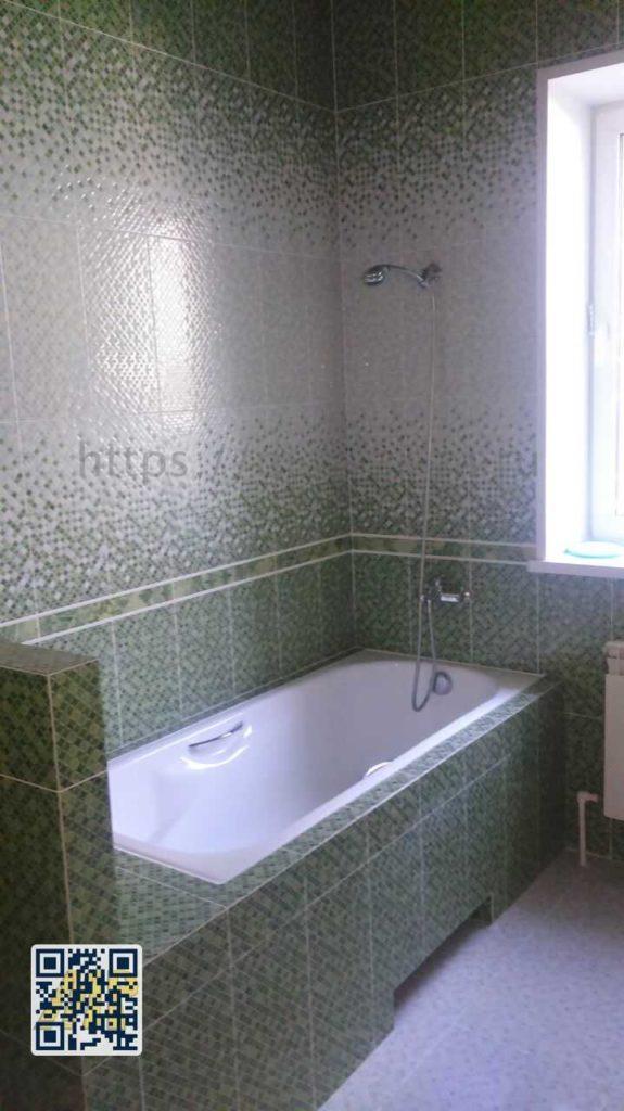 Ремонт совмешенной ванной в ПГТ.Малаховка