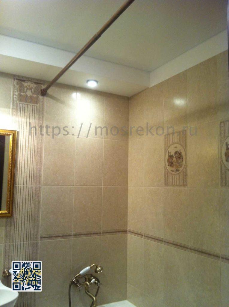 Ремонт совмещенного санузла в панельном доме П-44 фото