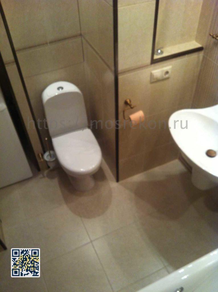 Красивый ремонт в ваной комнате