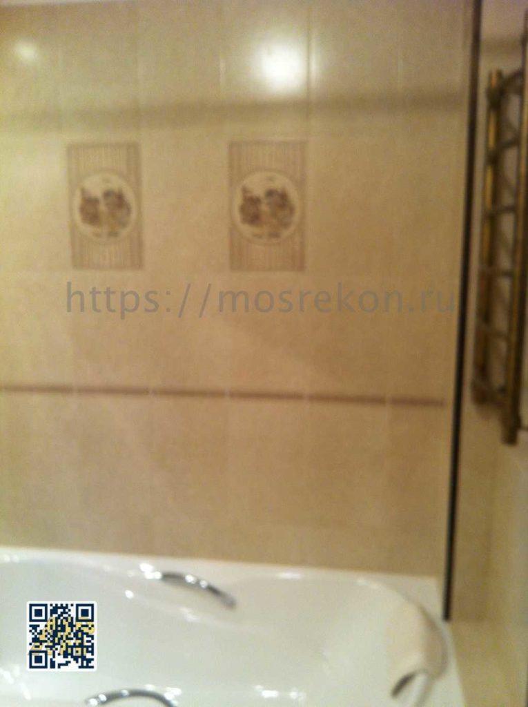 Фото стен санузла после ремонта