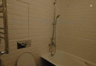 Недорогой ремонт ванной 3,5 м2 в пос Сосенская