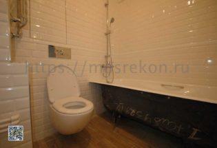 Элитный ремонт совмещенной ванной 3,5 м2