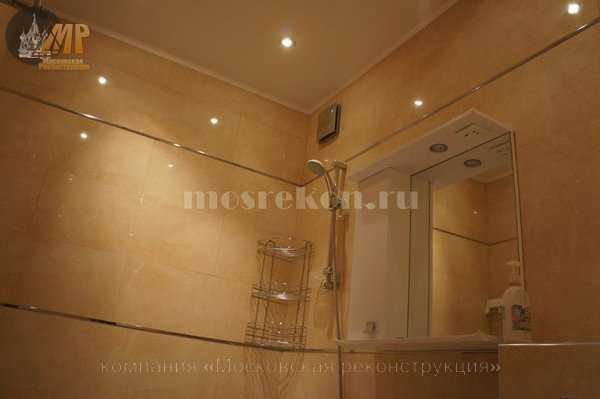 Элитный ремонт ванной в хрущевке