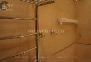 Установка аксессуаров в ванной комнате фото