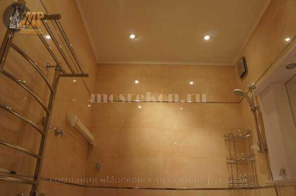 Красивый ремонт в ванной комнате