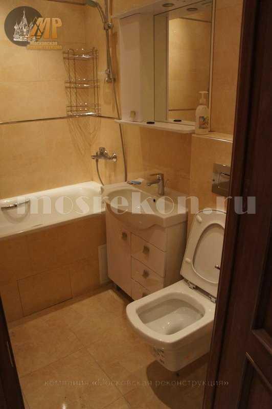 Красивый ремонт в ванной комнате недорого