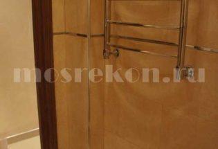 Установка полотенцесушителя в ванной комнате в хрущевке