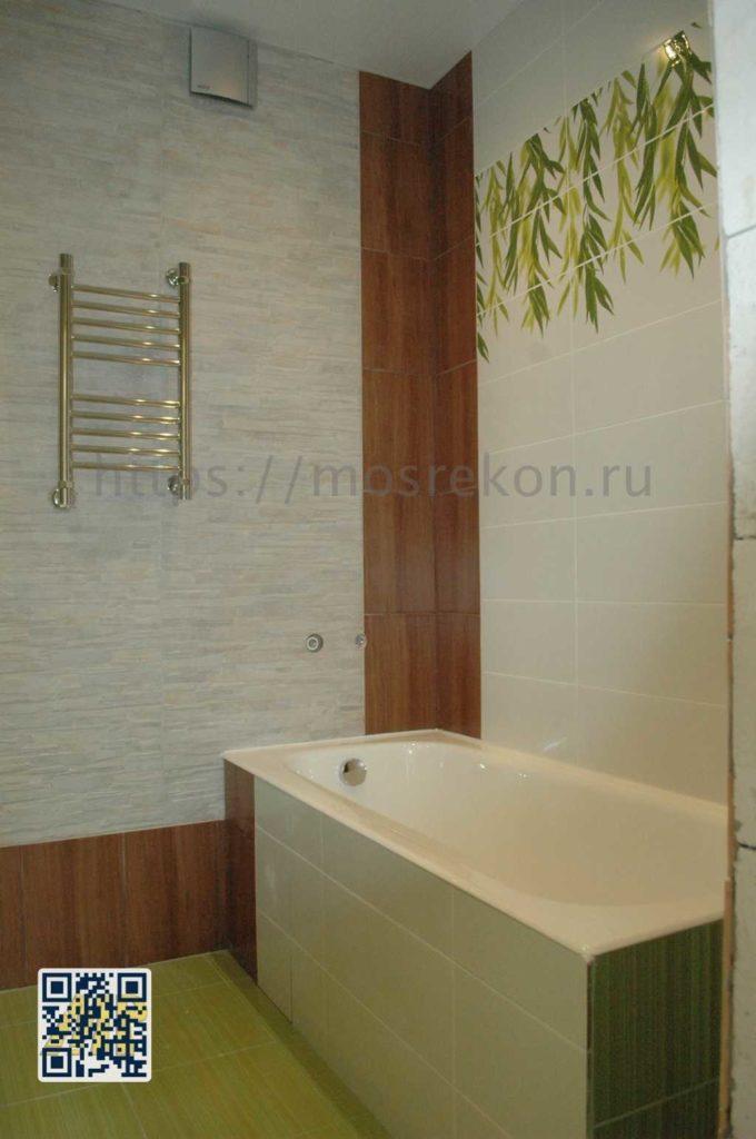 Капитальный ремонт ванной комнаты
