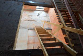Лестница от застройщика