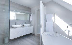 Дизайн ванной комнаты современный минимализм
