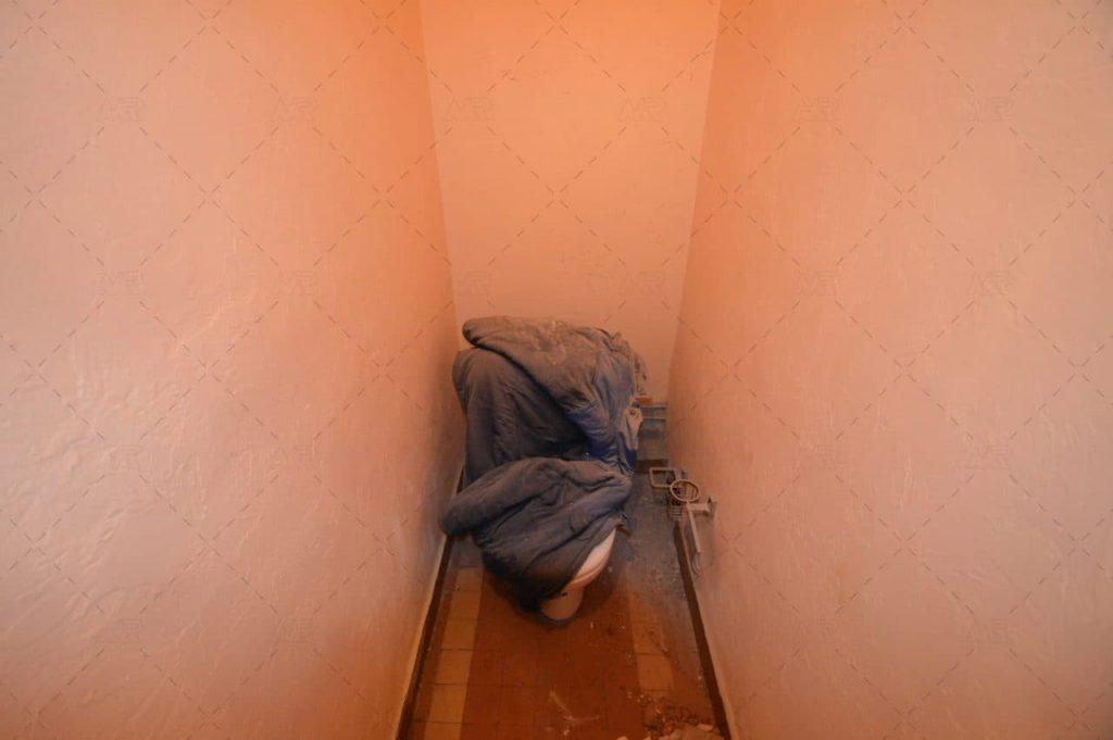 фото до ремонта туалета на войковской