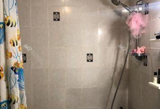 Старый ремонт в ванной комнате 3 м2