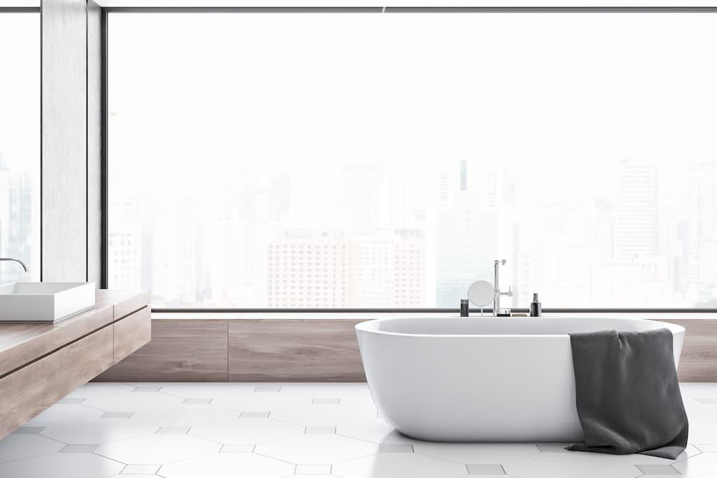 Люк под ванной под плитку - материалы изготовления, способы открывания