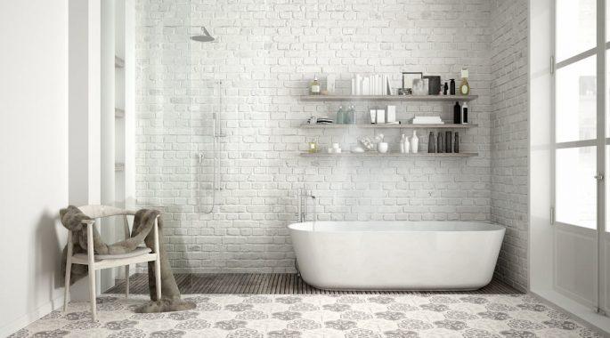 Подвесной потолок в ванной своими руками
