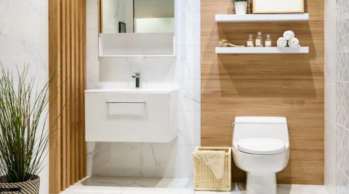 Стяжка пола в ванной под плитку, инструкция для новичков