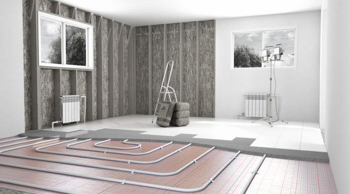 Теплый пол в ванной установка и требования к конструкции