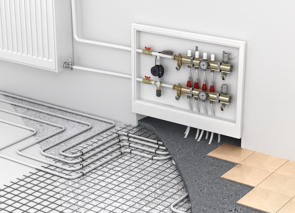 Теплый пол доп плитку электрический