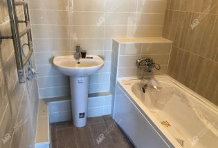 Ремонт ванной комнаты в ЖК Спутник