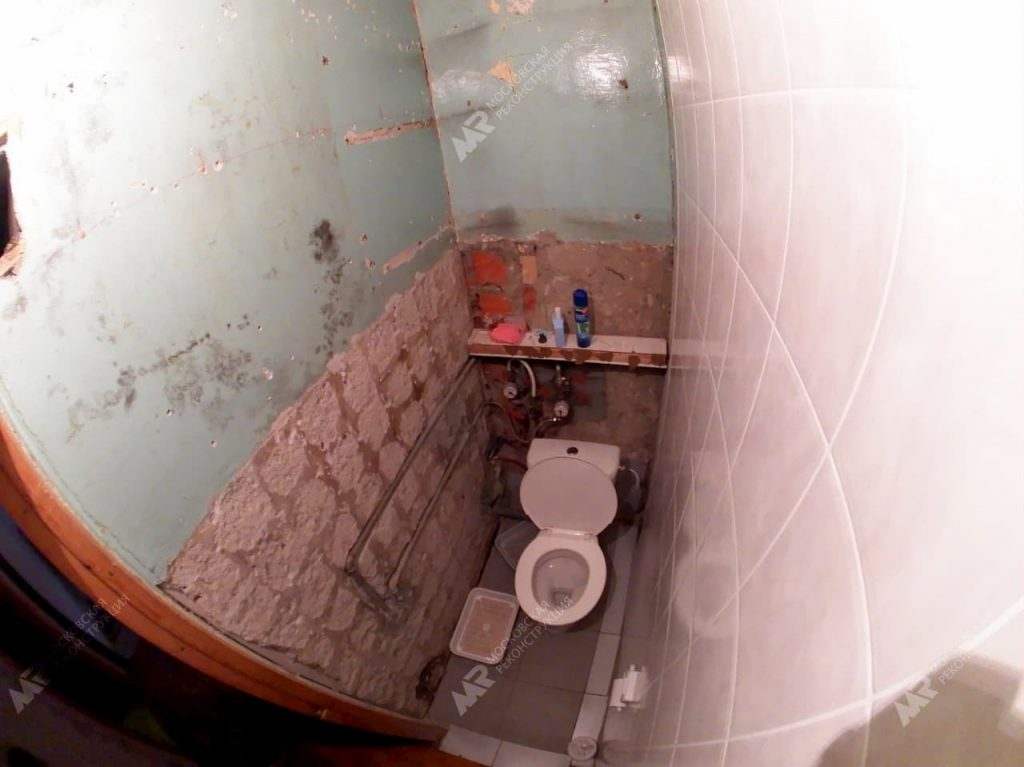 Ремонт старого туалета до