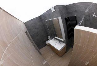 светодиодный потолок в совмещенной ванной