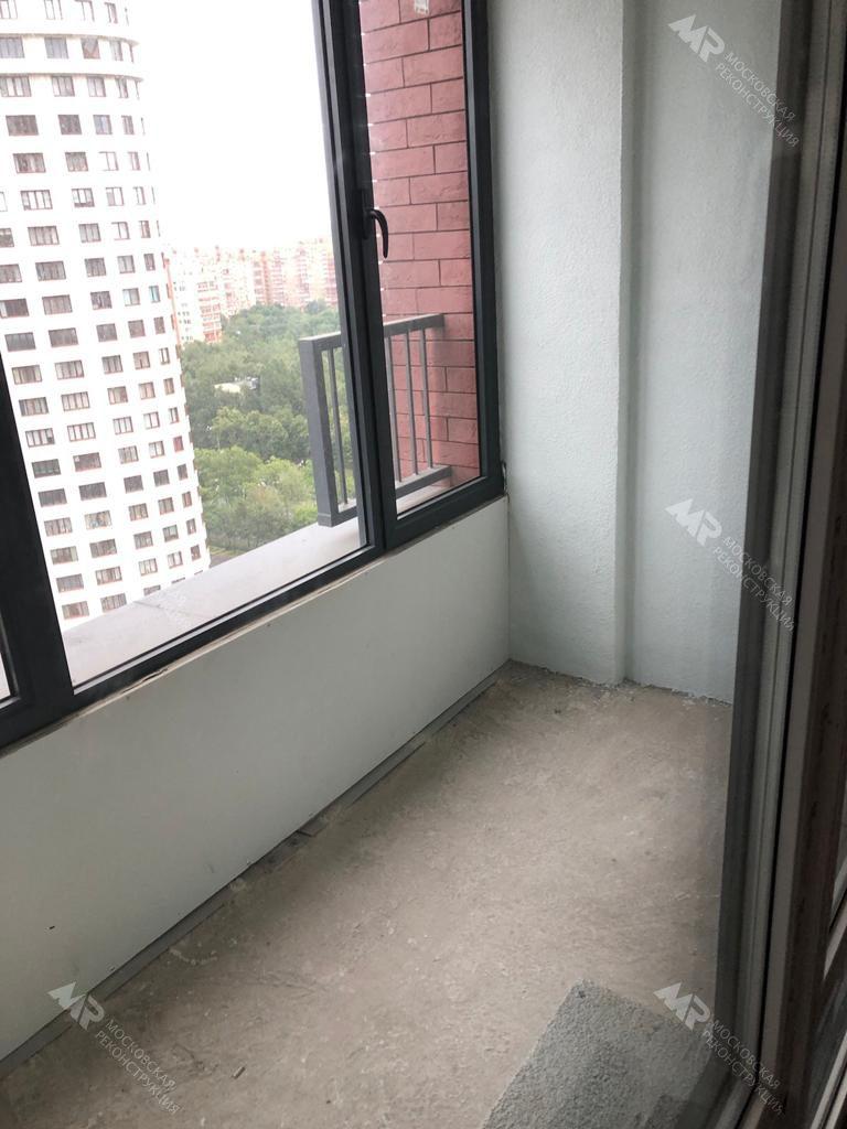 Балкон от застройщика Жк Родной город