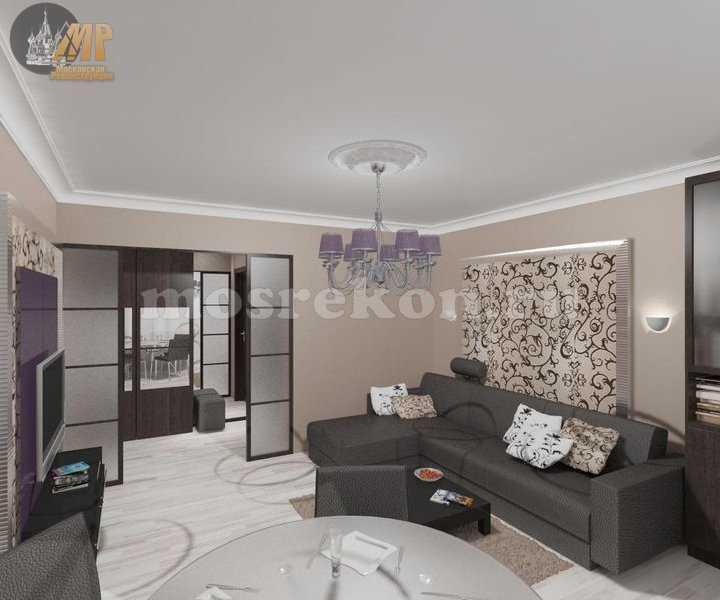 Дизайн комнаты 18 м в панельном доме