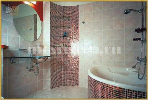 Дизайн ванной комнаты простой фото