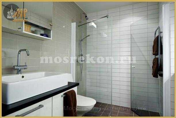 Ремонт ванных комнат под ключ фото 1-2