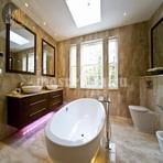 Элитный ремонт ванной комнаты фото 1-3