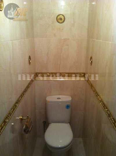 Эксклюзивная отделка ванной 2.2 кв.м. и