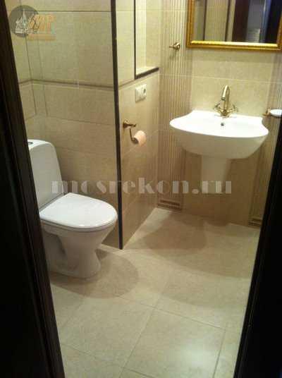 Евроремонт ванной комнаты и санузла 1-1
